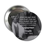 """Lincoln with Sojourner Truth 2.25"""" Button (100 pac"""