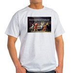 Socrates: Knowledge Books Wisdom Ash Grey T-Shirt