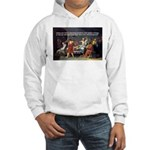 Socrates: Knowledge Books Wisdom Hooded Sweatshirt