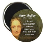 "Novelist Mary Shelley 2.25"" Magnet (10 pack)"