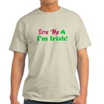 Bite Me I'm Irish Light T-Shirt