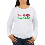Bite Me Emmett Women's Long Sleeve T-Shirt