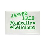 Jasper Magically Delicious Rectangle Magnet