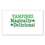Vampires Magically Delicious Rectangle Sticker 10