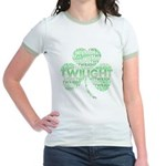 Twilight Shamrock Jr. Ringer T-Shirt