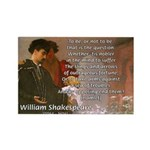 Hamlet Famous Soliloquy Rectangle Magnet (10 pack)