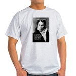 Arthur Schopenhauer Truth Ash Grey T-Shirt