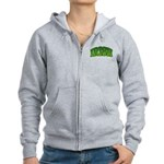 Irish Shamrock Women's Zip Hoodie