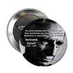 "Philosopher Bertrand Russell 2.25"" Button (100 pac"