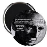 "Philosopher Bertrand Russell 2.25"" Magnet (100 pac"
