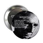 "Bertrand Russell 2.25"" Button (100 pack)"