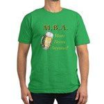 MBA Beers Men's Fitted T-Shirt (dark)