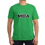 MBA / M.B.A. Men's Fitted T-Shirt (dark)