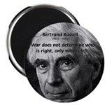 "Bertrand Russell 2.25"" Magnet (10 pack)"