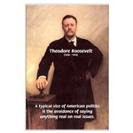 Theodore Roosevelt Large Poster