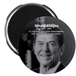 "Humour of Ronald Reagan 2.25"" Magnet (10 pack)"
