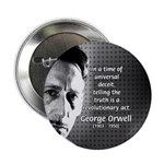 "Novelist George Orwell 2.25"" Button (10 pack)"