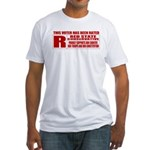 Rated R Red State Conservative Fitted T-Shirt