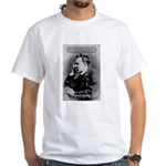 Vanity God and Nietzsche White T-Shirt