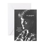 Iris Murdoch Equality Greeting Cards (Pk of 10