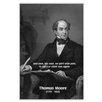 Irish Poet: Thomas Moore Large Poster