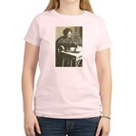 Maria Montessori Education Women's Pink T-Shirt