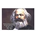 Union of Workers: Marx Postcards (Package of 8)