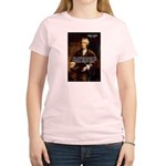 Philosophy John Locke Women's Pink T-Shirt