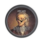 Change and John Locke Wall Clock