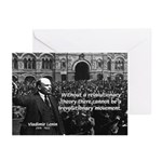 USSR Foundation Lenin Greeting Cards (Pk of 10