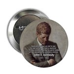 "Man / War John F. Kennedy 2.25"" Button (100 pack)"