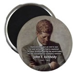 "Man / War John F. Kennedy 2.25"" Magnet (100 pack)"