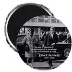 "Education John F. Kennedy 2.25"" Magnet (100 pack)"