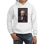Universal Law: Kant Hooded Sweatshirt