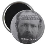 Prejudice William James 2.25&quot; Magnet (10 pack)