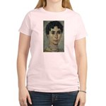 Wisdom of Greece: Hypatia Women's Pink T-Shirt