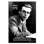 History Aldous Huxley Large Poster