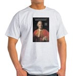 Christianity and David Hume Ash Grey T-Shirt