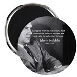 "Exploration: Edwin Hubble 2.25"" Magnet (10 pack)"