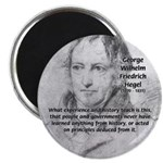 "History Lessons Georg Hegel 2.25"" Magnet (10 pack)"
