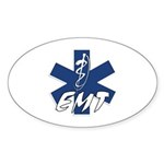 EMT Active Oval Sticker (50 pk)
