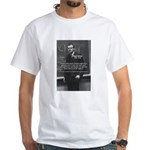 Paul Dirac Quantum Theory White T-Shirt
