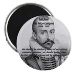 "Individual Freedom Montaigne 2.25"" Magnet (100 pac"