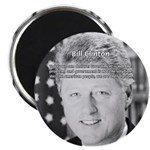 "Government Bill Clinton 2.25"" Magnet (100 pack)"