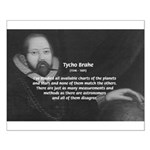 Astronomy Tycho Brahe Small Poster