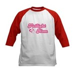 Twilight Mom Kids Baseball Jersey