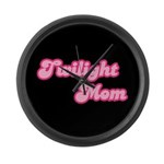 Twilight Mom Large Wall Clock