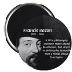 "Philosopher Francis Bacon 2.25"" Magnet (100 pack)"