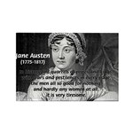 Women in History Jane Austen Rectangle Magnet (100