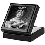Women in History Jane Austen Keepsake Box